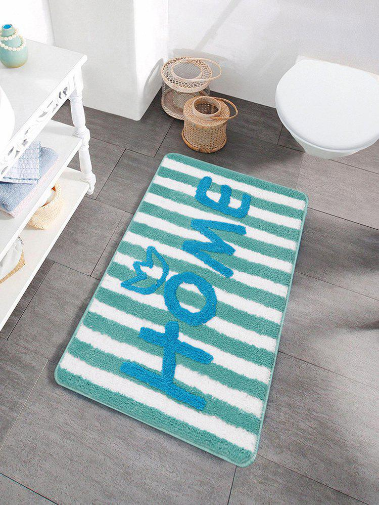 Shops Letters Pattern Water Absorption Area Rug