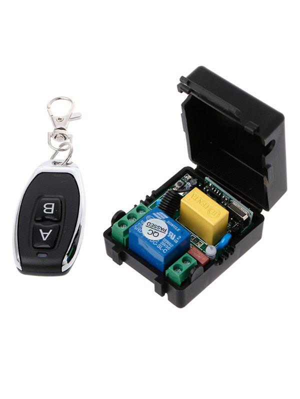 Unique 1 Channel Wireless Relay Receiver and 433 Mhz Remote Switch Control