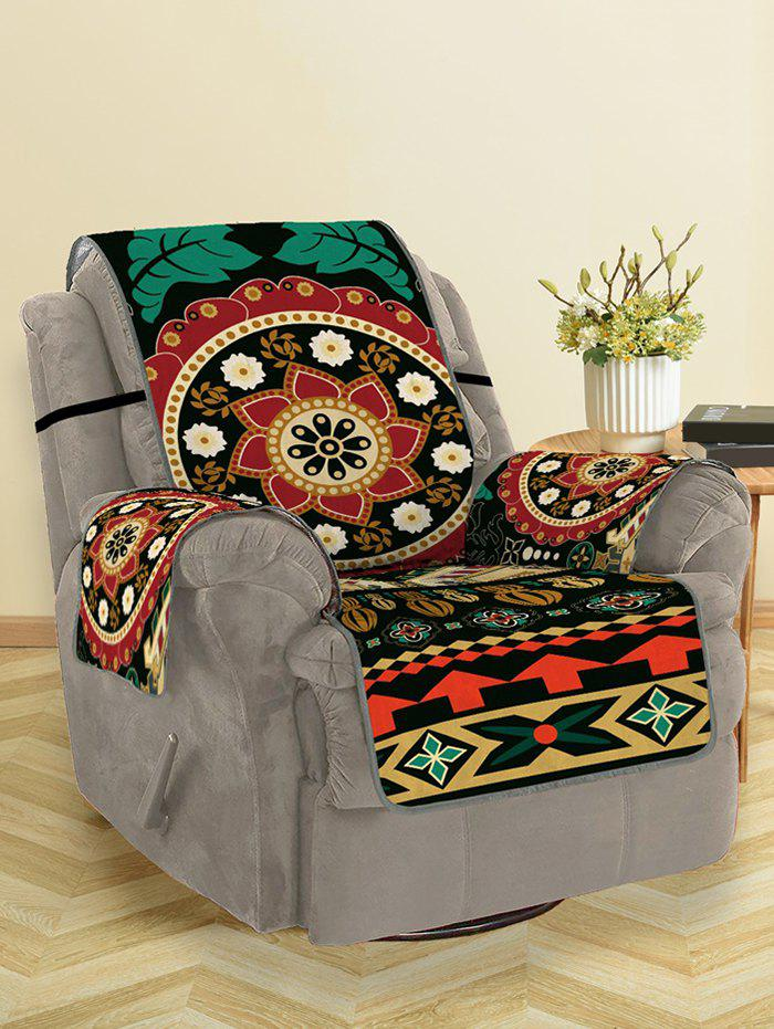 New Bohemian Mandala Flower Pattern Couch Cover