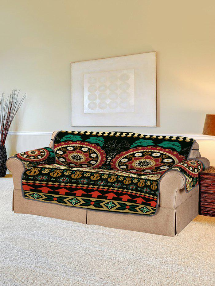 Best Bohemian Mandala Flower Pattern Couch Cover