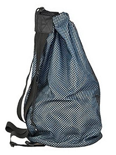 Online Sport Drawstring Basketball Mesh Bag Backpack