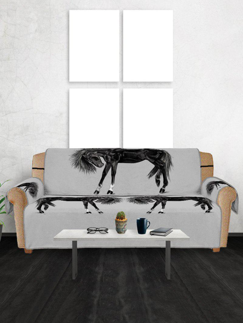 Online Horse Pattern Couch Cover
