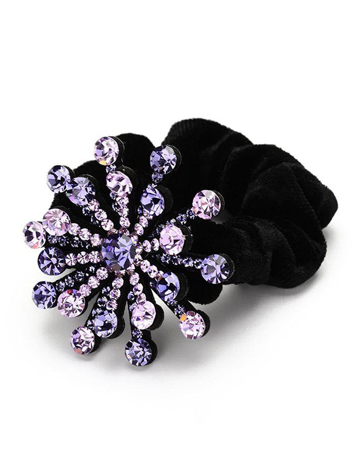 Buy Floral Decoration Rhinestone Hairband