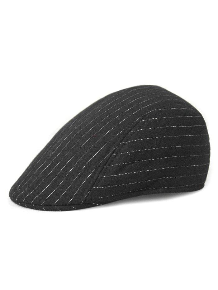 Best Casual Striped Decoration Beret