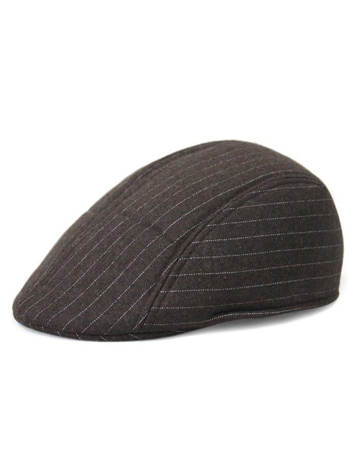 Buy Casual Striped Decoration Beret