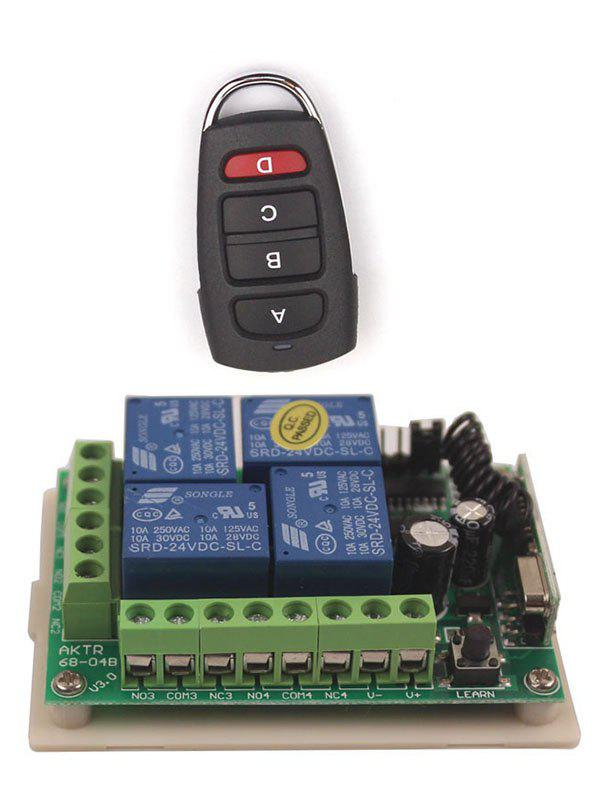 Latest Universal Wireless Remote Switch Control and 4 Channel Relay Receiver Module