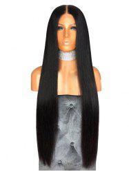 Synthetic Long Middle Part Capless Straight Wig -