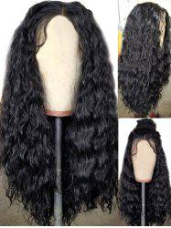 Center Parting Long Water Wave Party Synthetic Wig -