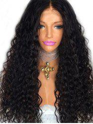 Middle Part Long Deep Wave Party Synthetic Wig -