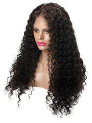 Center Parting Long Deep Curly Capless Synthetic Wig -