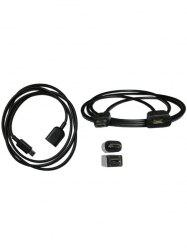 1 M Micro USB Male to Micro USB Female Extension Data Charge Cable -