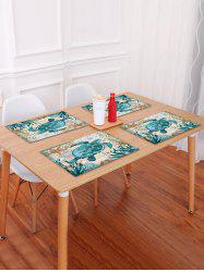 Nautical Turtle Pattern Placemat -