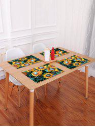 Sunflowers Print Table Placemat -