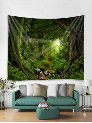 Forest Trail Print Tapestry Wall Hanging Art Decor -