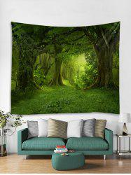 3D Forest Tapestry Art Decoration -