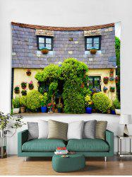 3D House Printed Tapestry Art Decoration -