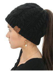 Winter Knitted Simple Style Hat -