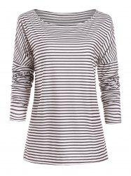 Striped Relaxed Tee -
