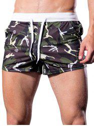 Camouflage Printed Mesh Boxers -