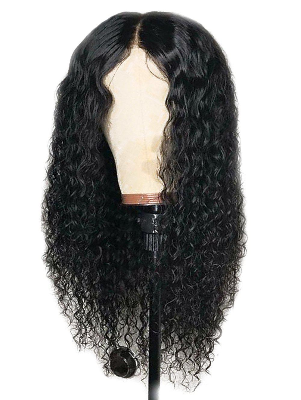Fashion Center Parting Long Water Wave Capless Synthetic Wig