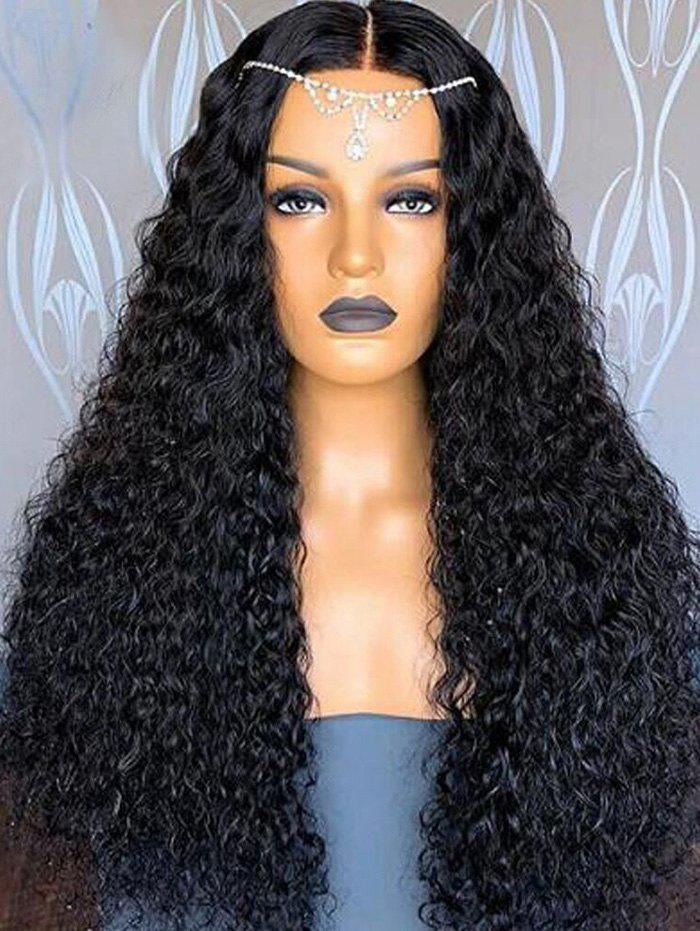 Outfits Center Parting Long Shaggy Curly Synthetic Wig
