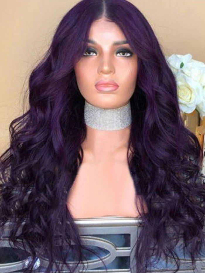 Fashion Synthetic Center Parting Long Wavy Party Wig