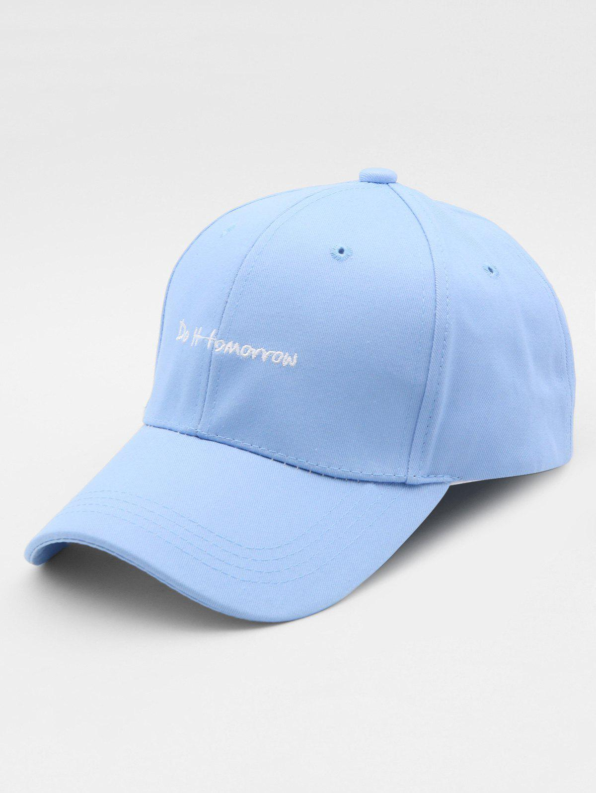 New Embroidered Letter Sports Hip Hop Cap