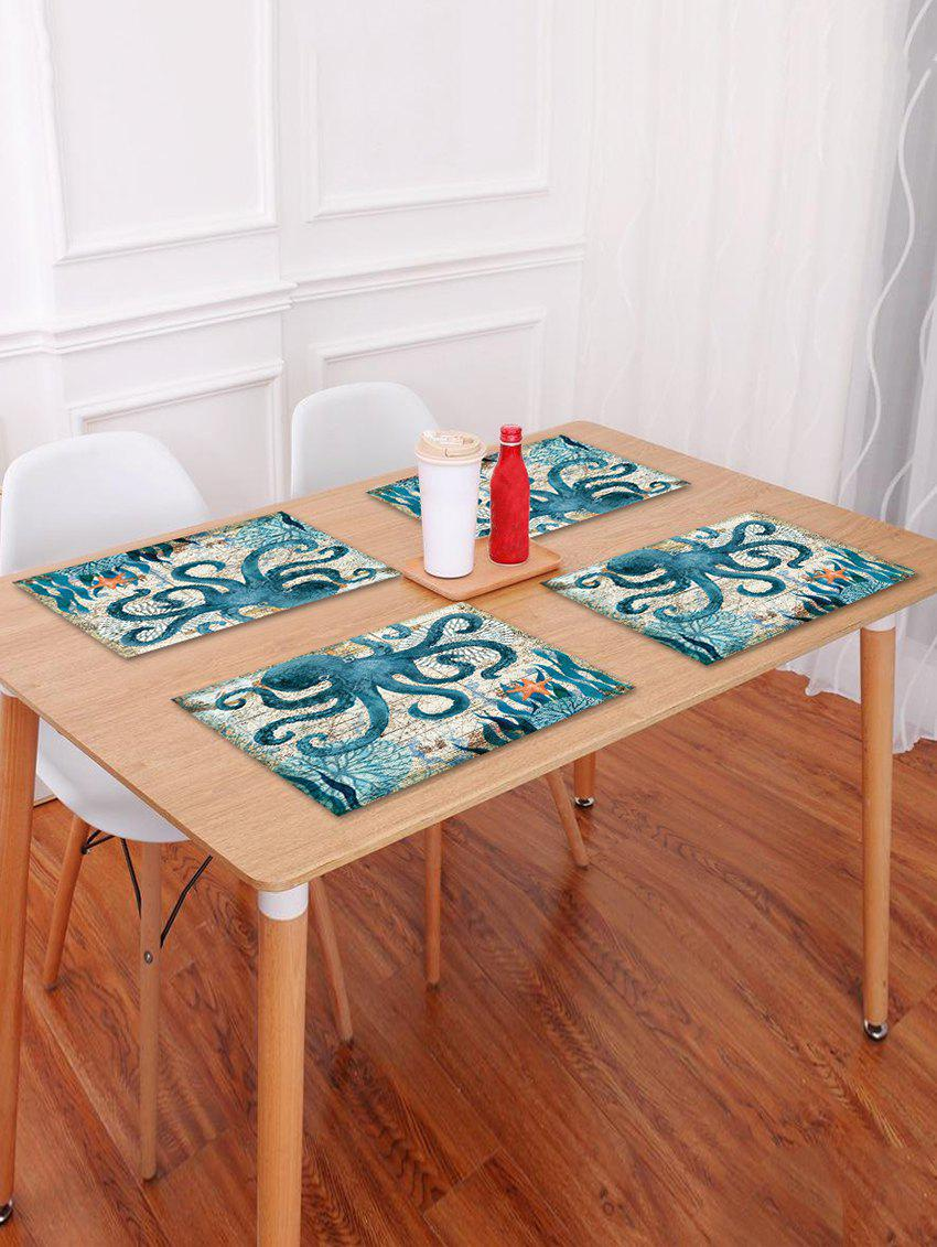 Latest Nautical Octopus Pattern Placemat