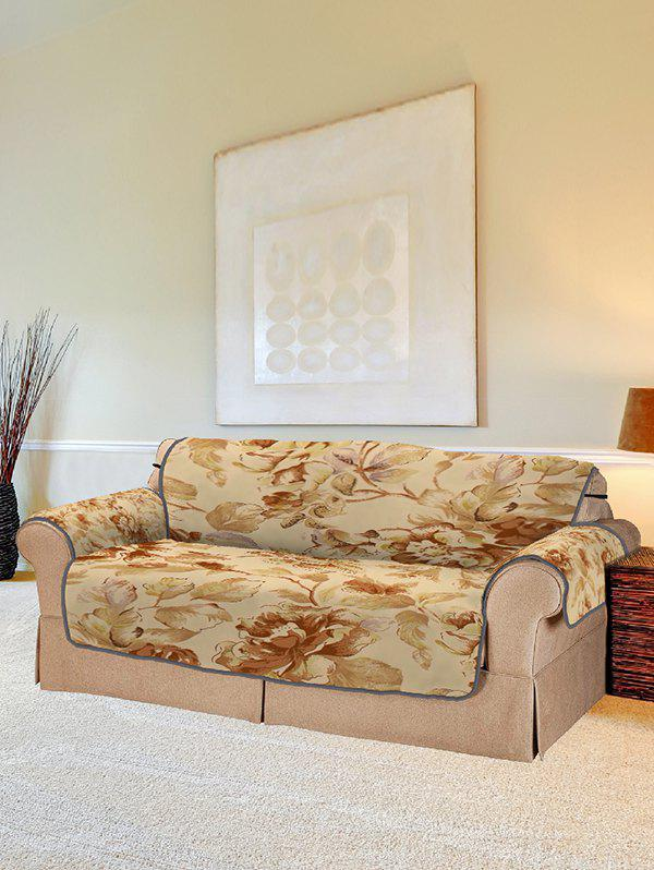 Affordable Flower Vintage Pattern Couch Cover