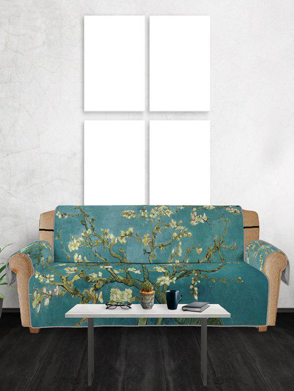 New Flower Tree Pattern Couch Cover