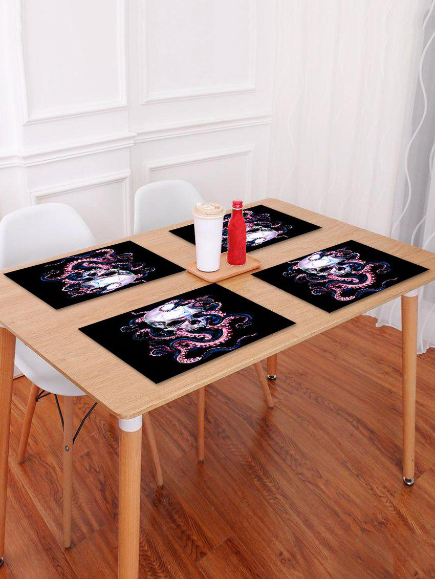 Store Octopus Skull Pattern Placemat