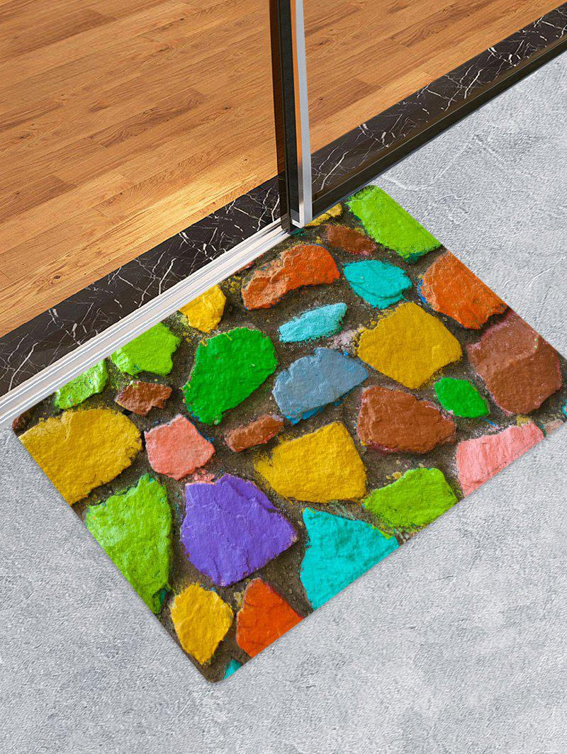 Sale Stone Pattern Printed Floor Mat