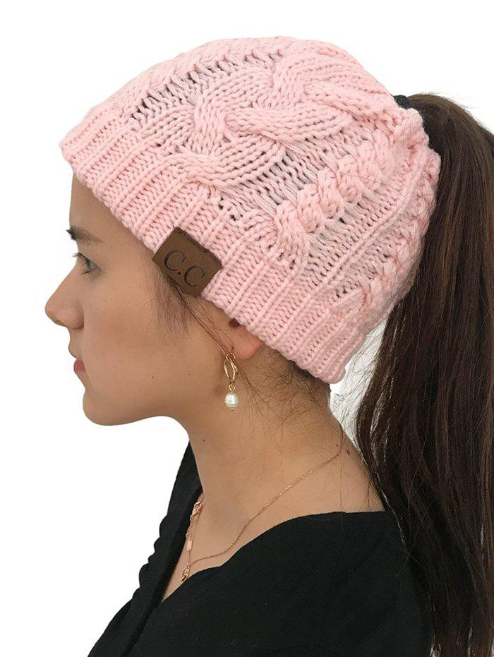 Shop Winter Knitted Simple Style Hat