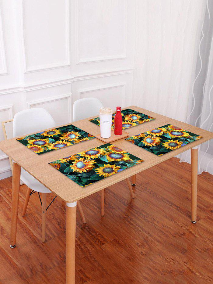Store Sunflowers Print Table Placemat