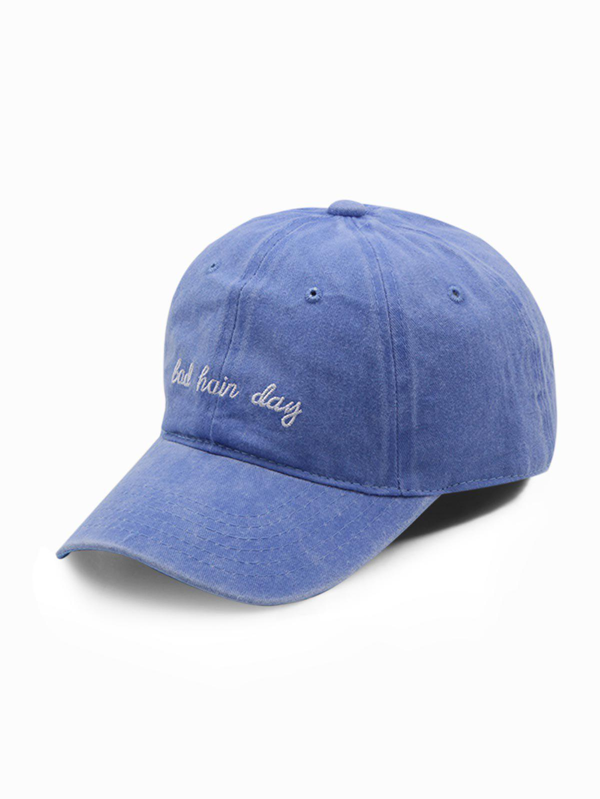 Outfit Cotton Vintage Embroidered Letter Baseball Cap