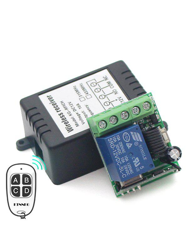 New DC 12V 1 Channel Mini Wireless Relay Receiver Module