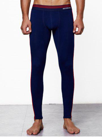 Close-fitting Solid Color Long Johns