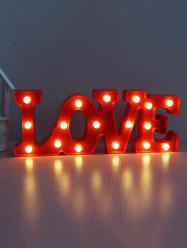 Valentines Day LOVE Shape LED Night Light -
