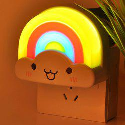 Creative Mini Voice Control Rainbow LED Night Light -