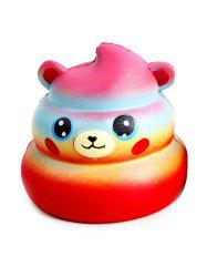 Bear Starry Sky Stress-relief Slow Rising PU Squishy Toy -
