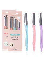 Stainless Steel Makeup Tools Eyebrow Trimmer -