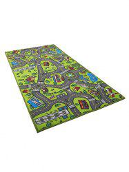Traffic Safety Education Carpet Toy -