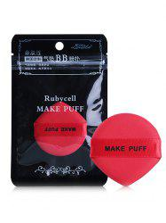 Heart Shape Wet and Dry Makeup Puff -