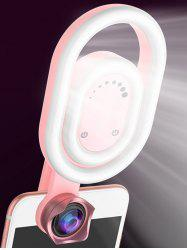 Selfie Ring Light with HD Wide-angle Lens -
