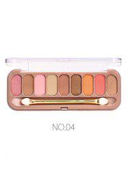 Long Lasting 9 Colors Matter Eyeshadow Palette -