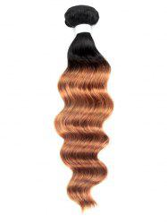 1Pc Human Hair Ombre Deep Wave Brazilian Virgin Hair Weave -