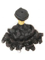 1Pc Funmi Curly Human Hair Brazilian Virgin Hair Weave -