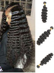 1Pc Deep Wave Brazilian Virgin Human Hair Weave -