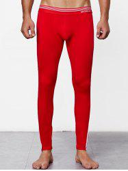 Close-fitting Solid Color Long Johns -
