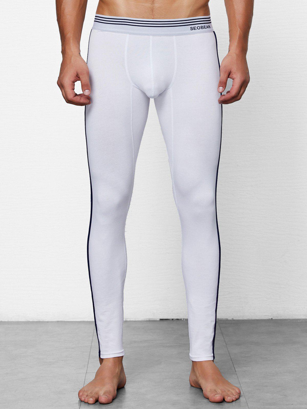 Outfit Close-fitting Solid Color Long Johns
